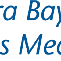 Square aurora baycare sports med logo vert blue